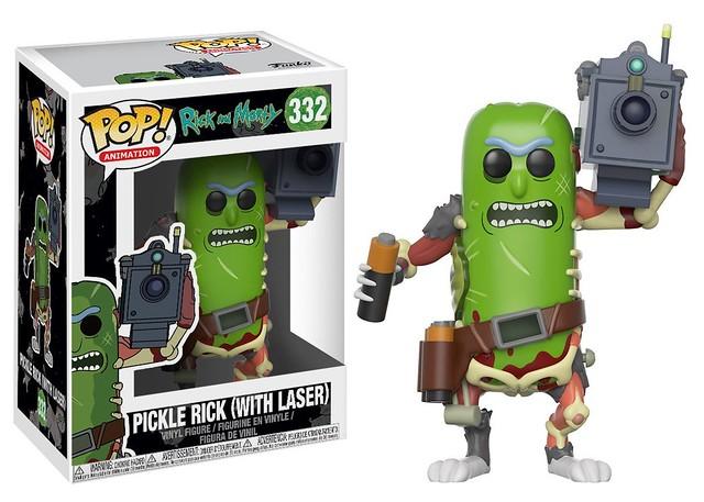 讚嘆就好,我是醃黃瓜! FUNKO POP! ANIMATION 系列《瑞克和莫蒂》醃黃瓜瑞克 Rick and Morty Pickle Rick 索藍尼亞降臨~
