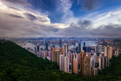 Victoria Peak Sunset
