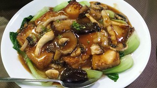 Mixed Mushroom and Tofu at Pu Kwong