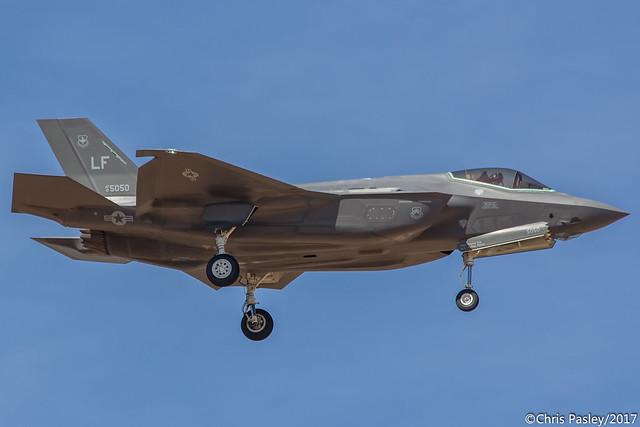 F-35A Lightning II - 61st FS - 12-5050