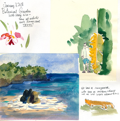 Sketchbook #111: Trip to Hawaii007