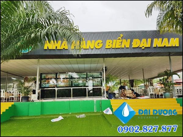 Hồ hải sản KDL Đại Nam