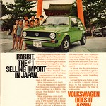 Sat, 2015-08-15 13:19 - 1978 Volkswagen Rabbit Advertisement Penthouse August 1978