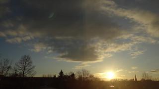 Bei Sonnenaufgang steigst Du leise schönes, weißes, helles Tageslicht 00377