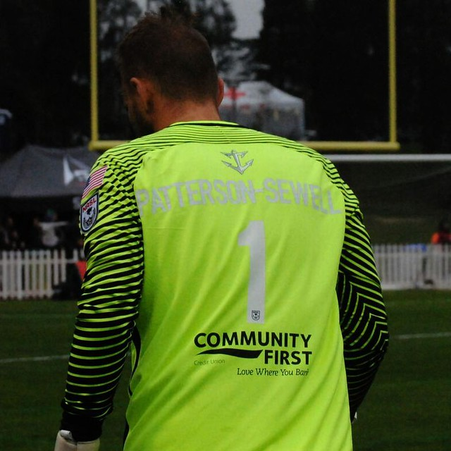 October can the kit man fit the entire name? Yep :) #jacksonvillearmada #jacksonvillearmadafc #kezarstadium #nasl #groundhopping #thechickenbaltichronicles unsubmitted shot for FootySF