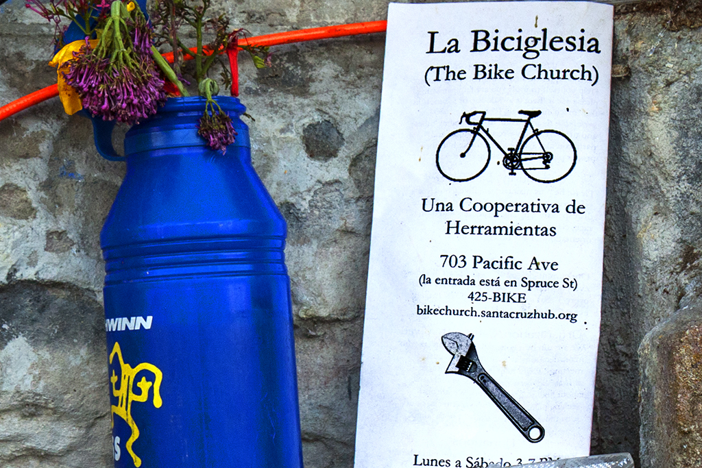 The Bike Church--Santa Cruz (detail)