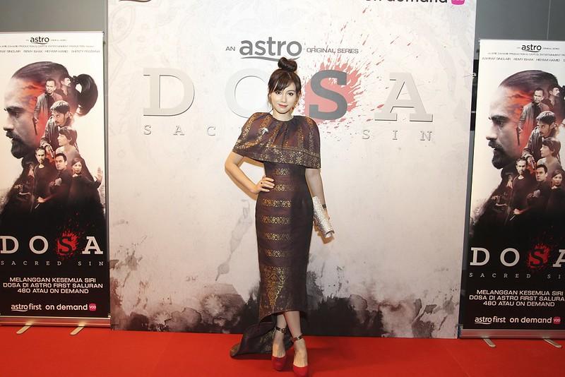 Daniella Sya sebagai Inspektor dari Interpol