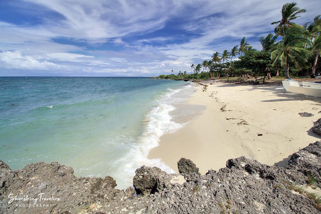 beach near the cliff diving spot, Virgin Island