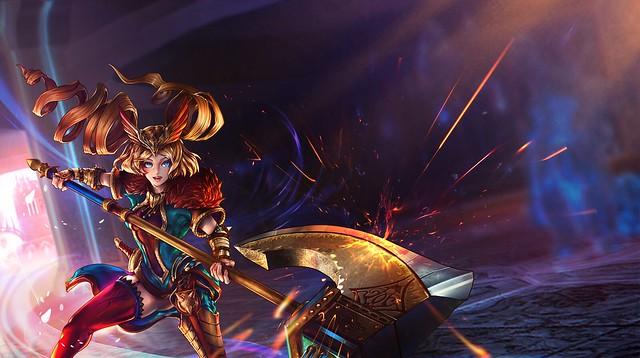 Fight of Gods - Freyja Poster