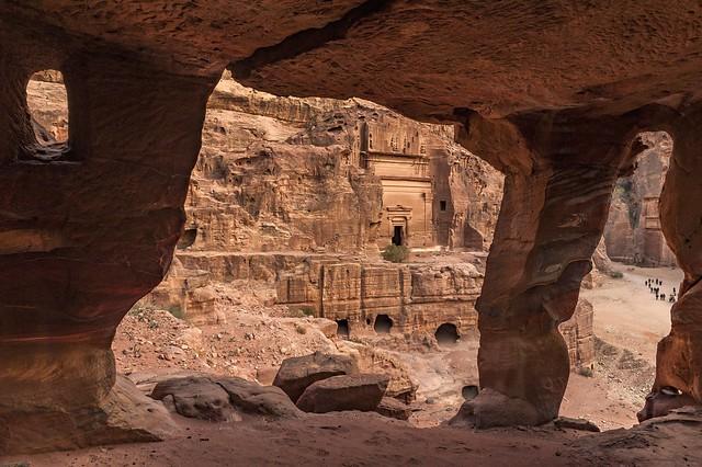 *Petra/Jordan @ Royal Tomb*