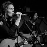 Tue, 05/12/2017 - 6:48am - Brandi Carlile and her band (the twins, plus drums and strings) play for lucky WFUV Marquee Members at Rockwood Music Hall in New York City, 12/5/18. Hosted by Rita Houston. Photo by Gus Philippas/WFUV.