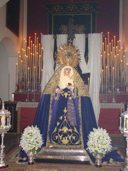 Hermandad Y Cofradia De Nazarenos Del Dulce Nombre De Jesús Y Nuestra Señora De La Soledad.