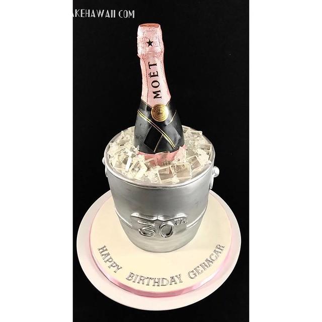 Champagne Cake by Cake HI