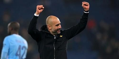 Manchester City Diliburkan Latihannya Oleh Pep Guardiola