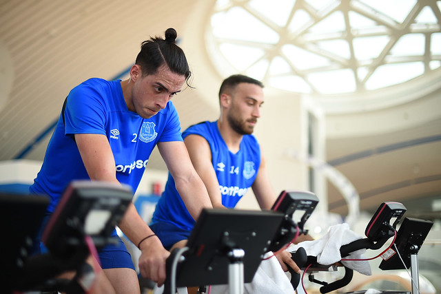 Blues Hit The Gym In Dubai