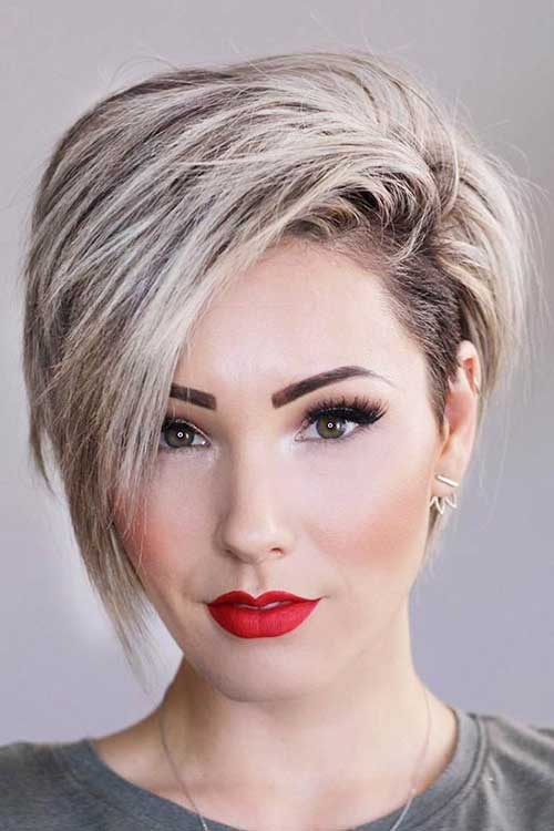 20 Top Layered Short Haircuts For Round Face 2018 Styles Art