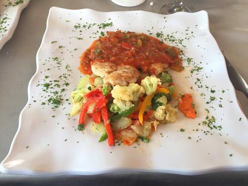 26 - Bologna Ristorante Sosua - Pollo creole & vegetales fritos