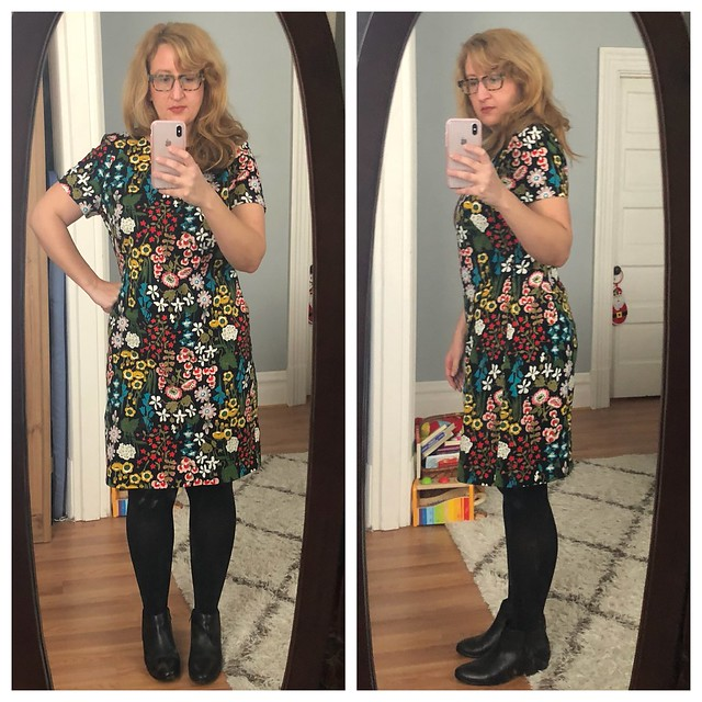 Bpden Dress with Booties