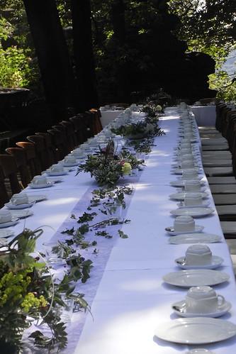 20100821 109 0101 Jakobus Hochstein Hochzeit Tisch Stühle Dekoration