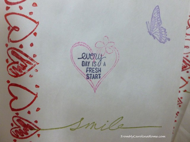 Valentine Project at From My Carolina Home