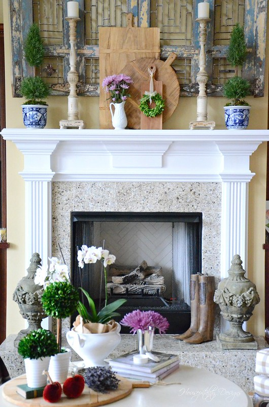GreatRoom Mantel-Housepitality Designs