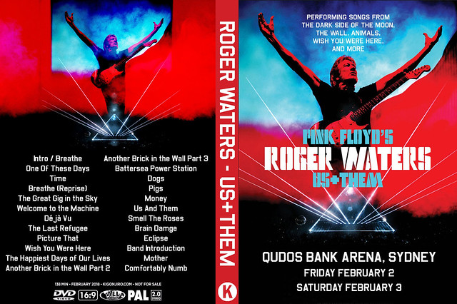 Roer Waters - Us + Them Tour, Qudos Bank Arena, Sydney