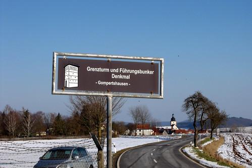 DDR-Grenzturm bei Gompertshausen