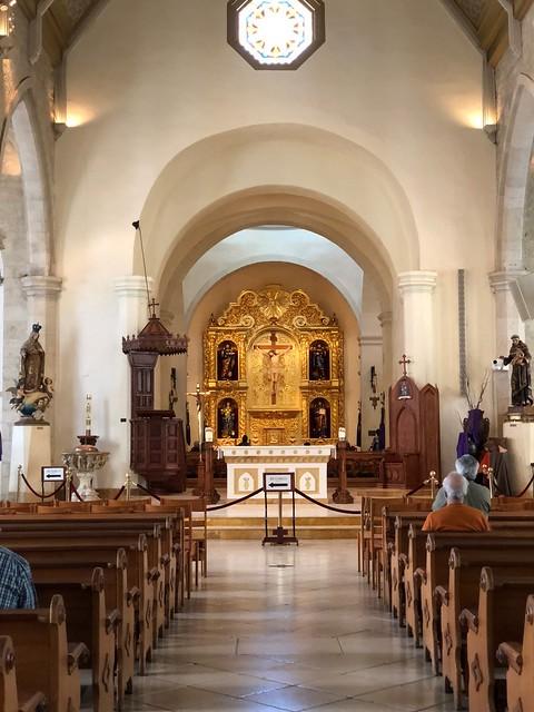 San Antonio - San Fernando Cathedral interior