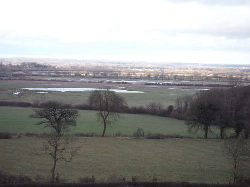 Otmoor RSPB Reserve, from The Common, Beckley