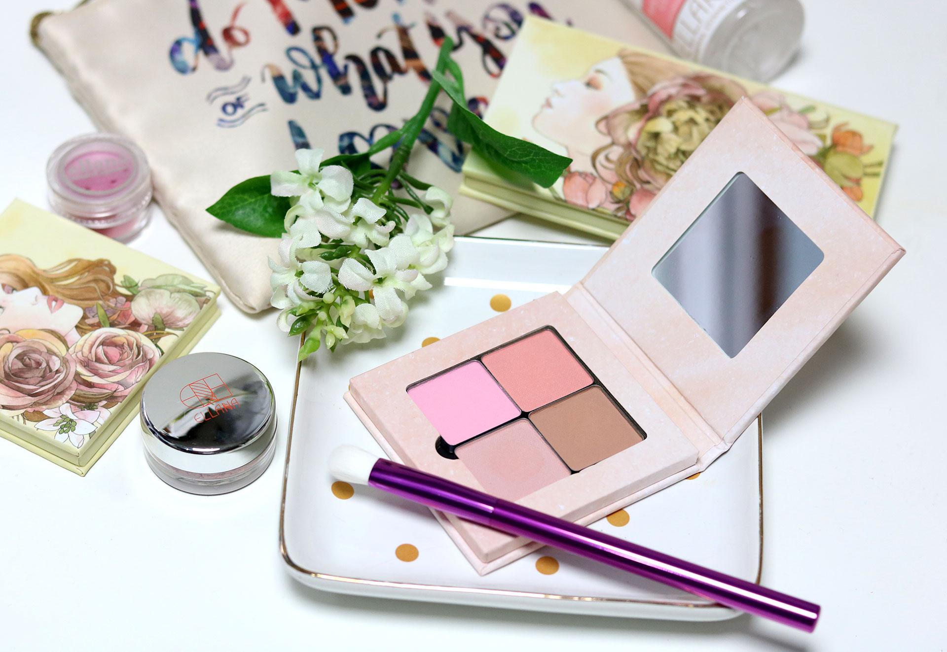 6 Ellana Cosmetics Multipurpose Pressed Pigments