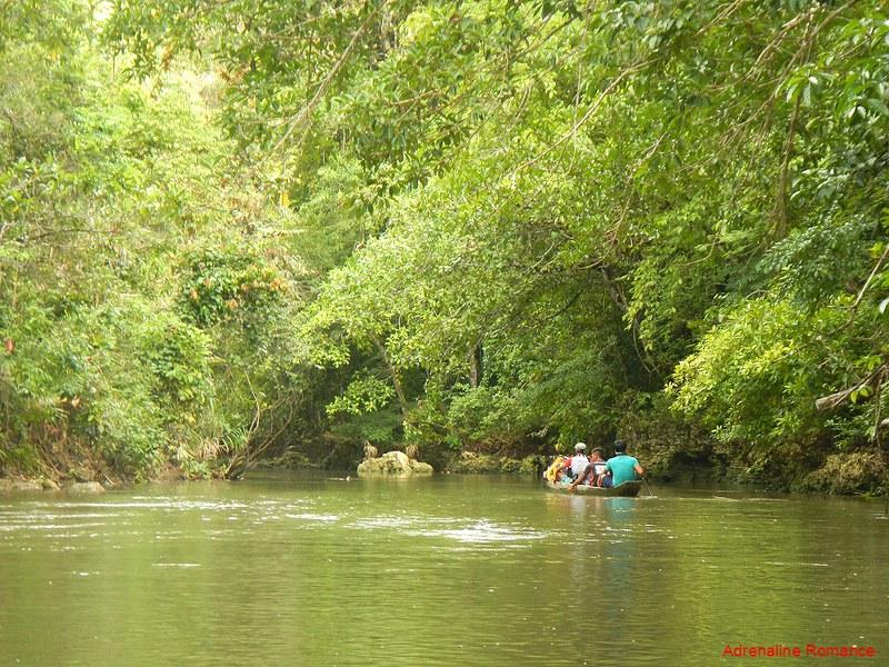 Cruising down Panaghoyan River