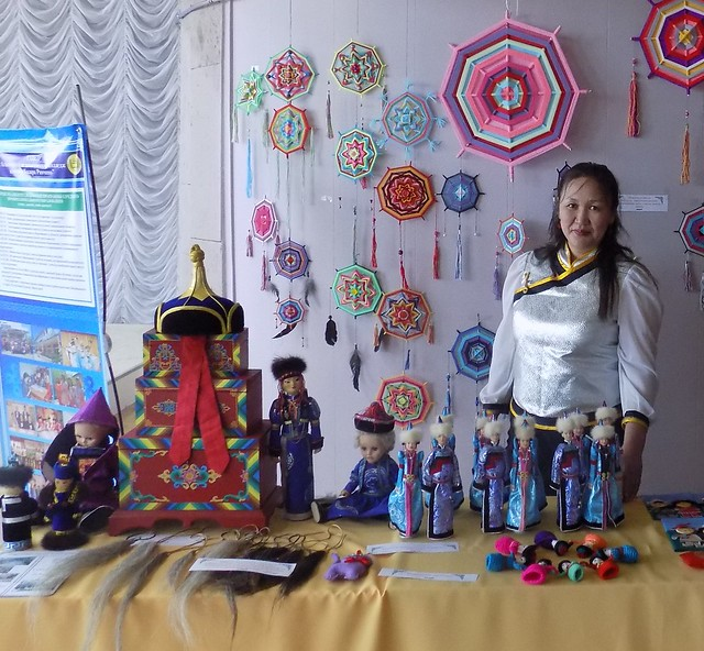 Выставка-ярмарка на праздновании Сагаалгана 2017-2018