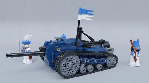 """""""Serpent"""" steam tank destroyer"""