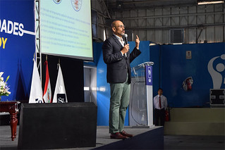 Un numeroso grupo de ingresantes al programa de Carreras Universitarias para Personas con Experiencia Laboral (CPEL) para este periodo 2018 – 01 participaron el pasado sábado 3 de marzo de la ceremonia de bienvenida, en el Coliseo del campus Arq. Fernando Belaunde Terry de La Molina.
