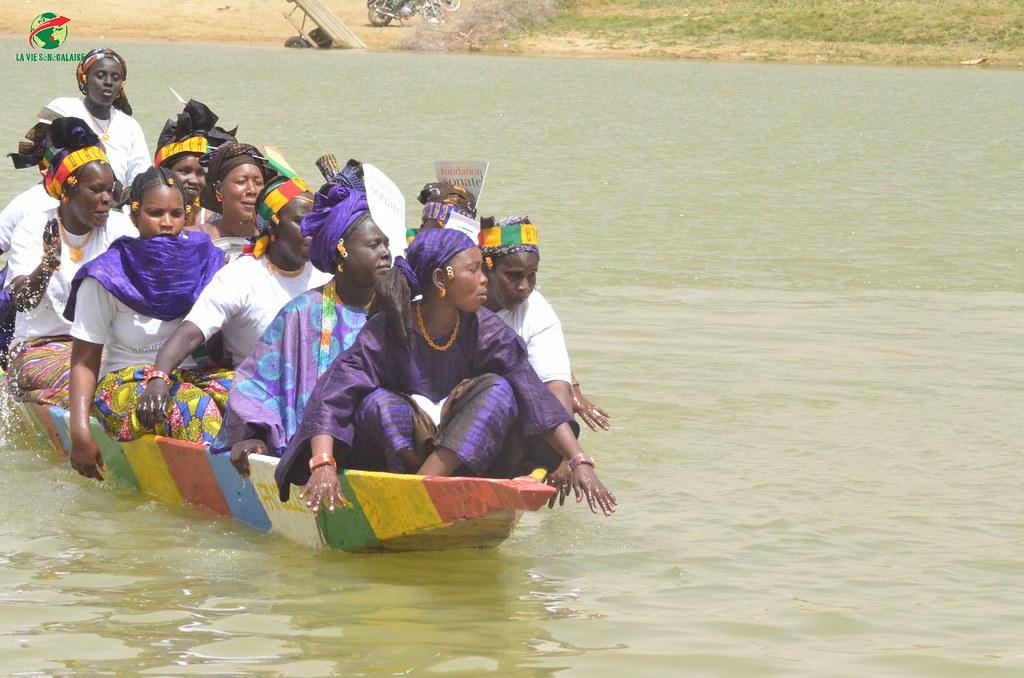 Inauguration d'infrastructures  de base à Mbakhna Par la Fondation SONATEL (135)