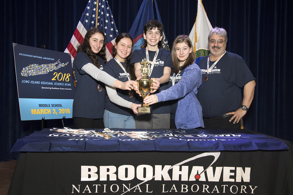 Great Neck South Middle School Wins Regional Middle School Science Bowl