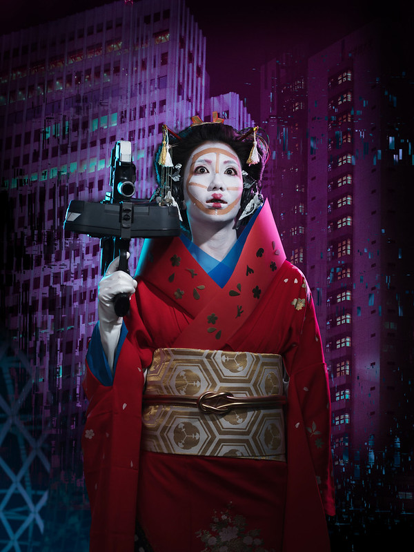 SALZ x Irwin Wong Geisha Robot1