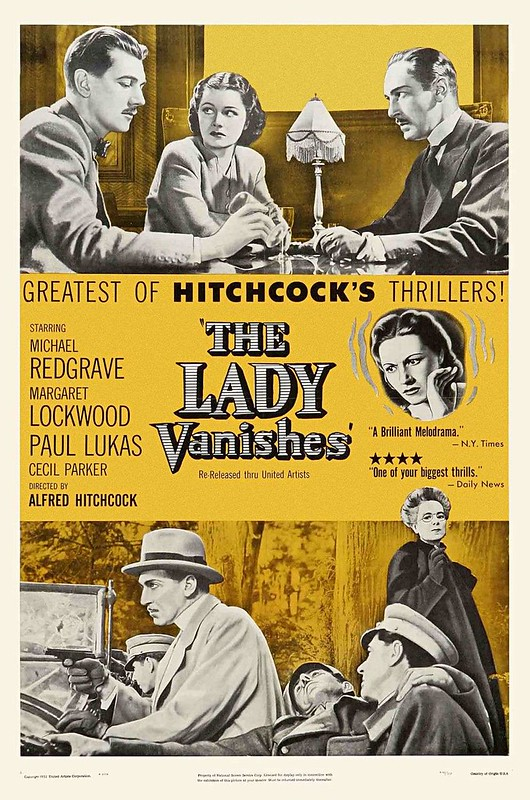The Lady Vanishes - 1938 - Poster 2