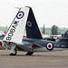Hawker Sea Hawk FGA.6 WV908 14 North Weald 10.05.1997
