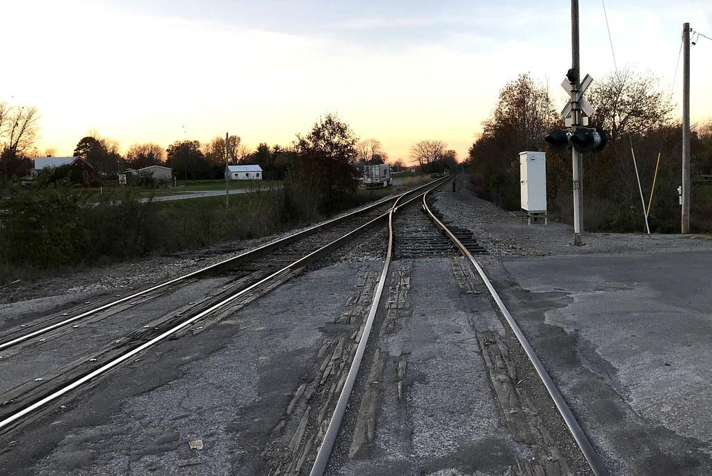 Dahlgren Railroad Sidetrack Junction