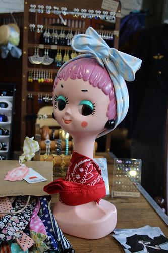 cute mannequin head