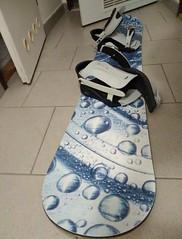 Snowboardový komplet - titulní fotka