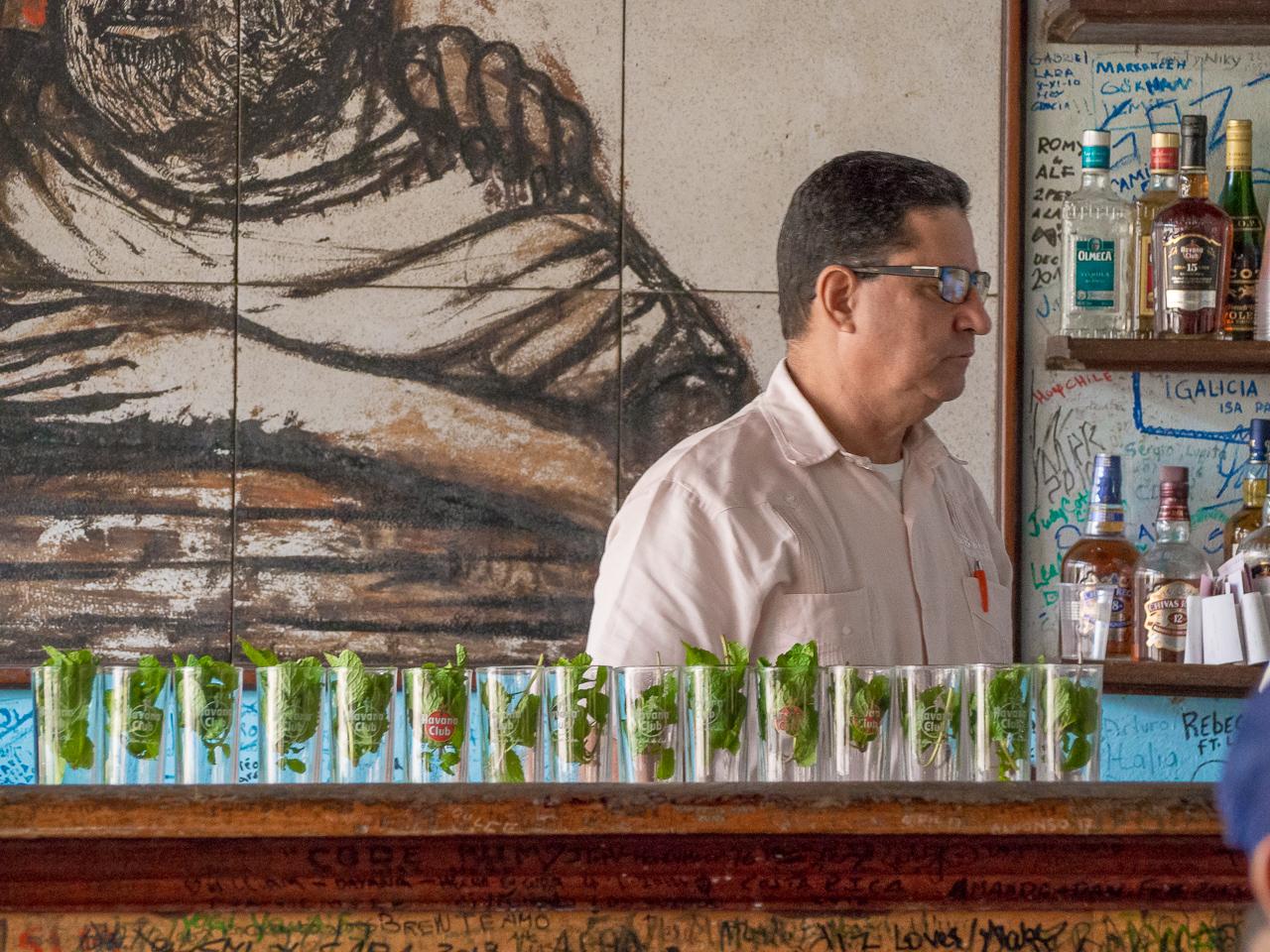 Havanna, Kuuba, mojito