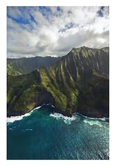 Nā Pali Coast, Kaua'i, Hawai'i