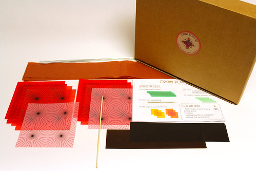 Origami Poppy Kit by Nikki Cross Applesauce