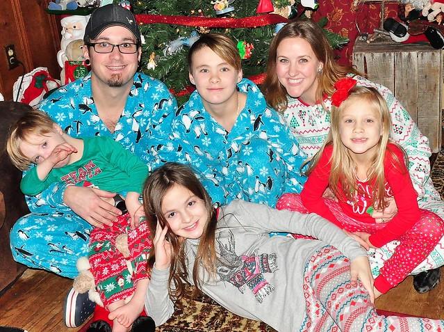 Christmas Eve Family Photo