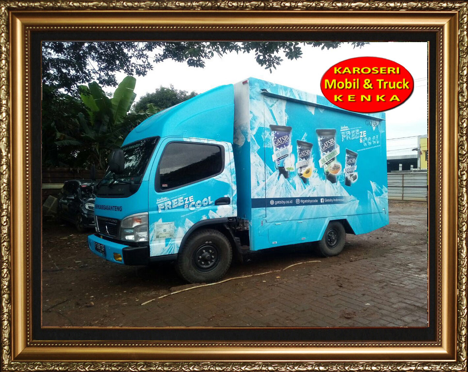 Karoseri Truck Promosi Gasby - 1