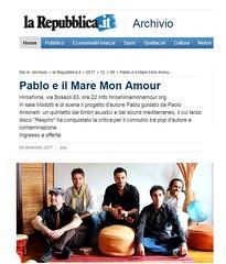 Repubblica, Pablo e il mare mon amour