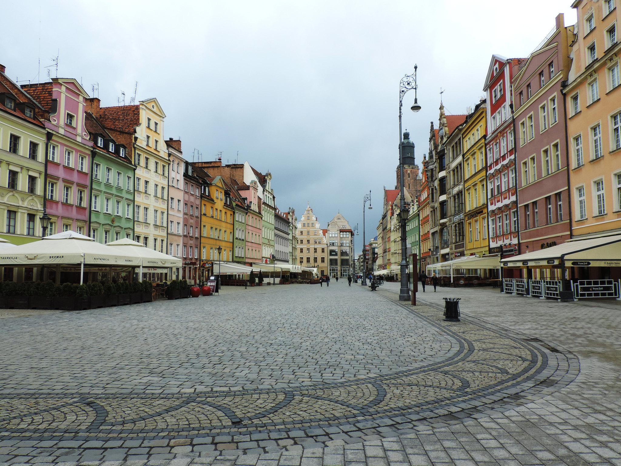 Main Market Square, Wrocław, Poland