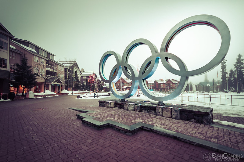 Olympic Sign - Whistler